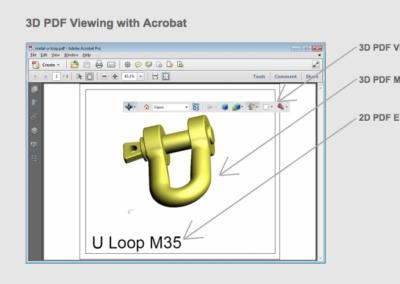 3D PDF Model Explanation