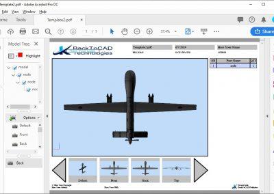3D PDF Part Numbers Publishing