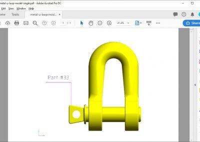 3D PDF Conversion Output